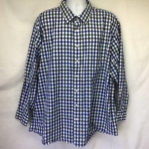 Nordstrom Men's Plaid Long Sleeve Shirt 20